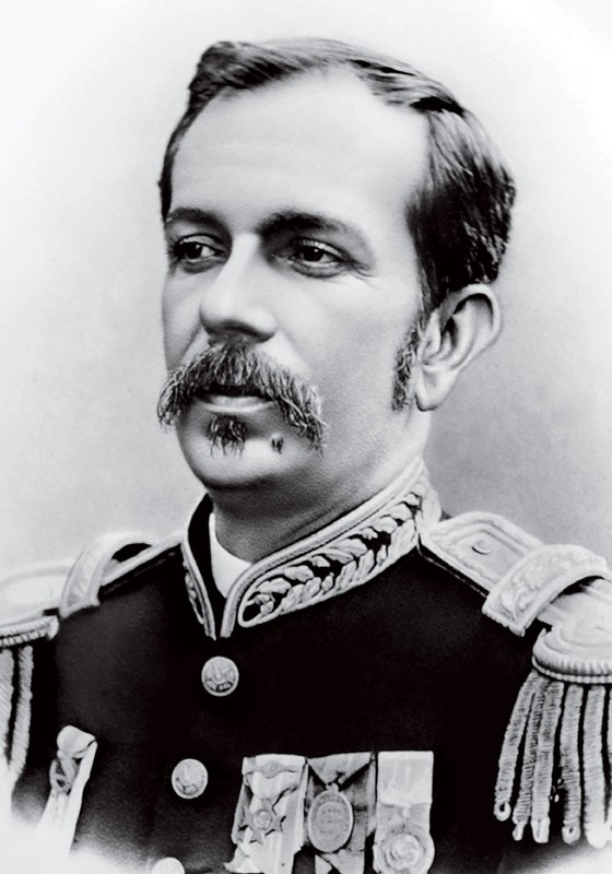 Retrato oficial do presidente Floriano Peixoto,cuja biografia é romanceada em O marechal de costas,de José Luiz Passos (Foto: Divulgação)