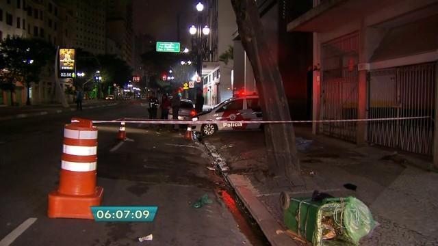 gari atropelado (Foto: TV Globo/Reprodução)