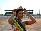 Miss Amapá 2014 conta que deixou a faculdade para se dedicar à carreira