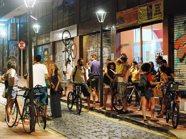 Na terça-feira (11), organizadores do Fórum Mundial da Bicicleta se reuniram para acertar detalhes para o evento (Foto: Douglas Oliveira / Divulgação)