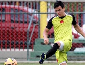Montoya treino Vasco (Foto: Marcelo Sadio / Site do Vasco)