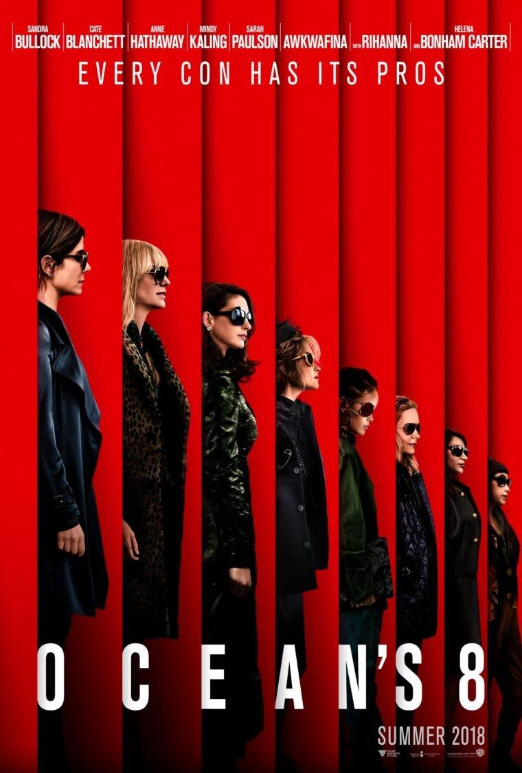 Ocean's Eight: o pôster oficial do aguardado filme Oito Mulheres e Um Segredo (Foto: Divulgação)