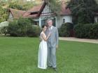 Pedro Bial e Maria Prata se casam no Rio de Janeiro