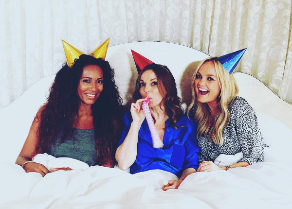 Spice Girls: Mel B, Emma Bunton e Geri Halliwell (Foto: Instagram)