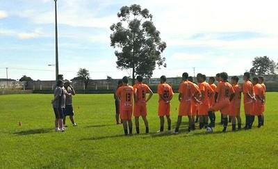 Time do Itaporã treina de olho em torneio amistoso (Foto: Renato Giansante/Itaporã)