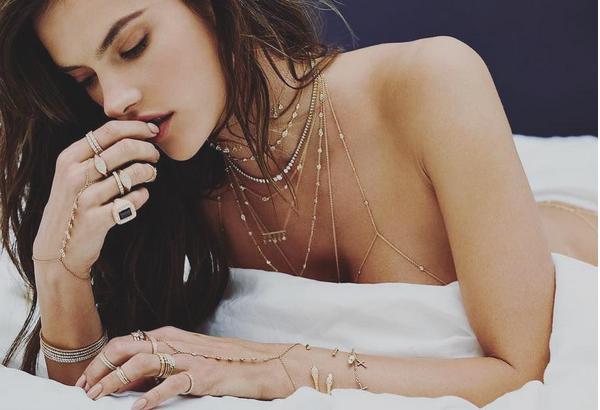 A modelo brasileira Alessandra Ambrósio (Foto: Instagram)