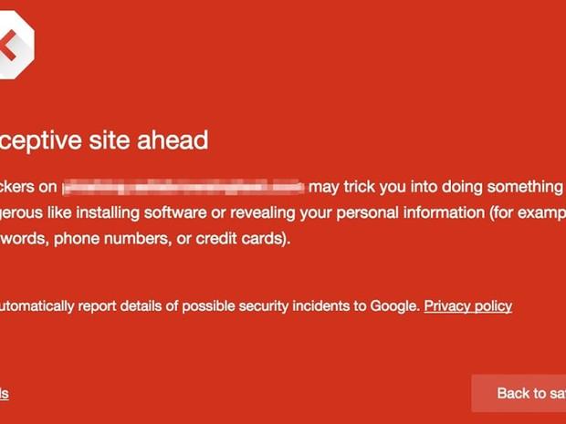 Chrome, navegador do Google, passa a bloquear sites com conteúdo 'enganoso'. (Foto: Divulgação/Google)