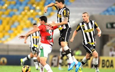Bolivar Botafogo e Portuguesa (Foto: Andre Durão)