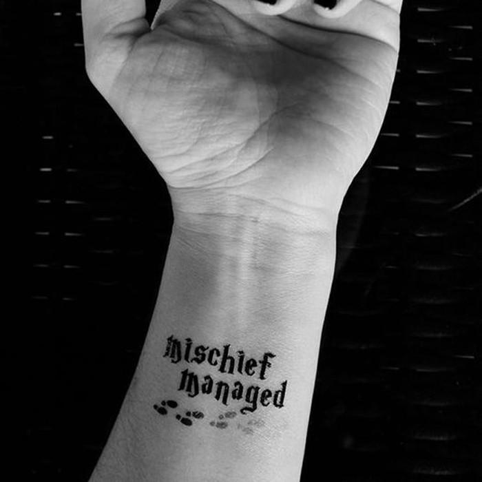 Tatuagem de Harry Potter (Foto: Reprodução/Pinterest/The Awesome Daily)