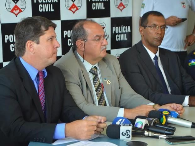 Várias prisões anteriores e apreensões também fizeram parte da operação (Foto: Polícia Civil/Divulgação)