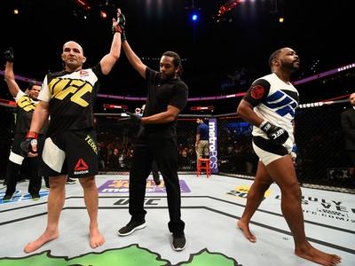 Glover Teixeira e Rashad Evans UFC Tampa (Foto: Getty Images)