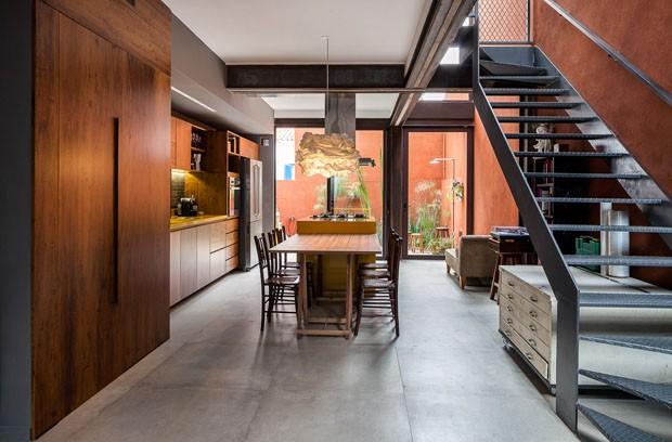 Reforma adapta casa de vila estreita com 140 m casa vogue casas - Reforma de casas ...