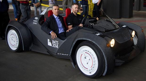 Primeiro carro feito em impressora 3D deve chegar ao mercado em 2015
