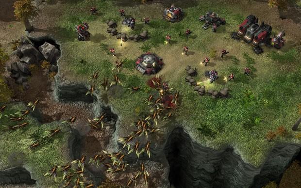 O Raptor é uma subespécie dos Zerglings criada por meio de mutações selecionadas pelo jogador (Foto: Divulgação)