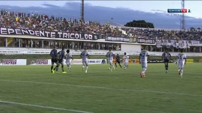 Melhores momentos: Anápolis 0 x 0 Bragantino pela Copa do Brasil