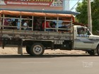 Paus de arara circulam sem fiscalização em Caxias, Maranhão