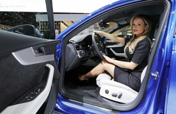 Audi no Salão de Detroit 2016; marca se tornou líder em vendas de carros de passeio premium no Brasil em 2015 (Foto: Mark Blinch/Reuters)