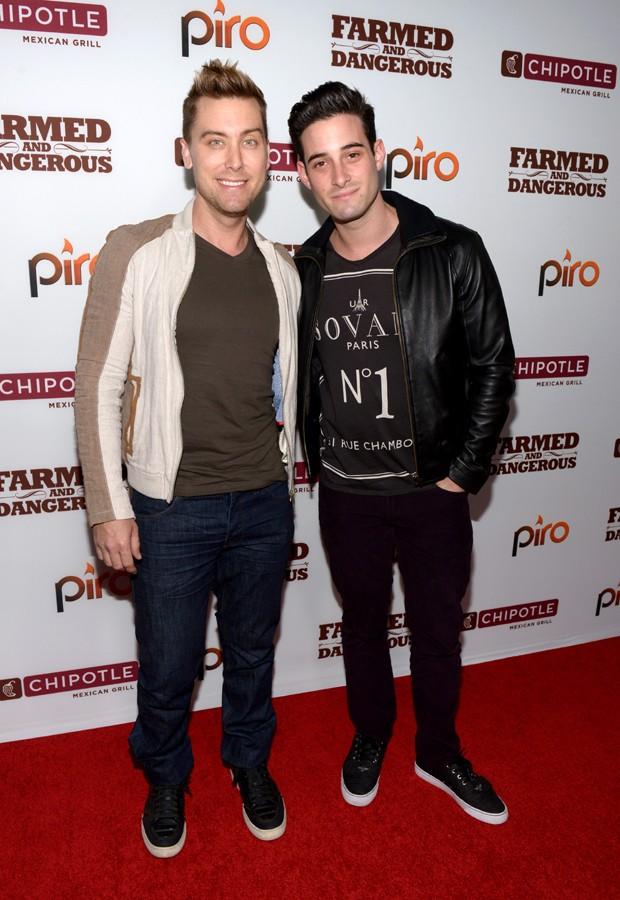 Lance Bass e Michael Turchin (Foto: Getty Images)