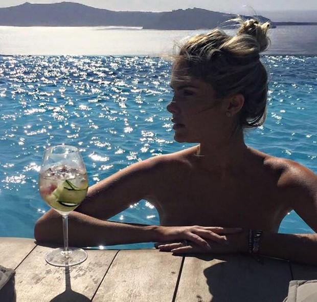 Bárbara Evans exibe corpão durante férias na Grécia (Foto: Reprodução/Instagram)