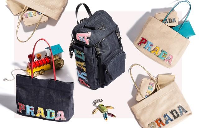 Bolsas da Prada (Foto: Arte Vogue Online)