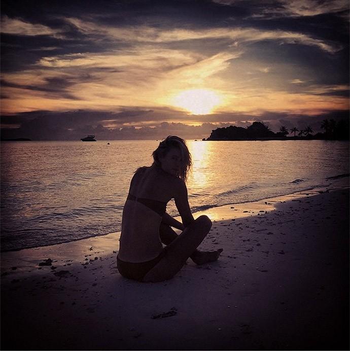 Sharapova nas filipinas (Foto: Reprodução / Instagram)
