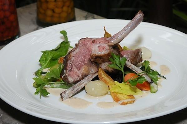 Um dos pratos apresentados na edição de 2012, no gastronômico Les Pantagruels  (Foto: Divulgação/ MidiaBacana)