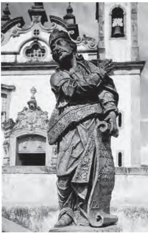 BARDI, P. M. Em torno da escultura no Brasil. São Paulo: Banco Sudameris Brasil, 1989. (Foto: Reprodução/Enem)