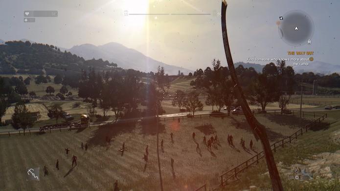 Dying Light: The Following: Countryside é uma região com florestas e planícies (Foto: Reprodução/Victor Teixeira)