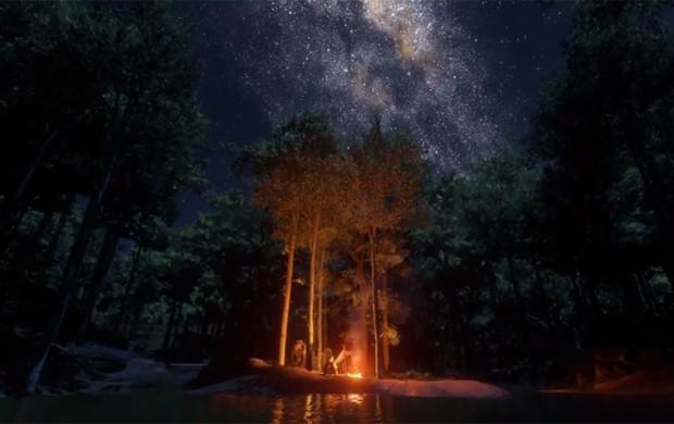 Paisagens são destaque do primeiro trailer de 'Red Dead Redemption 2' (Foto: Reprodução/YouTube/Rockstar Games)