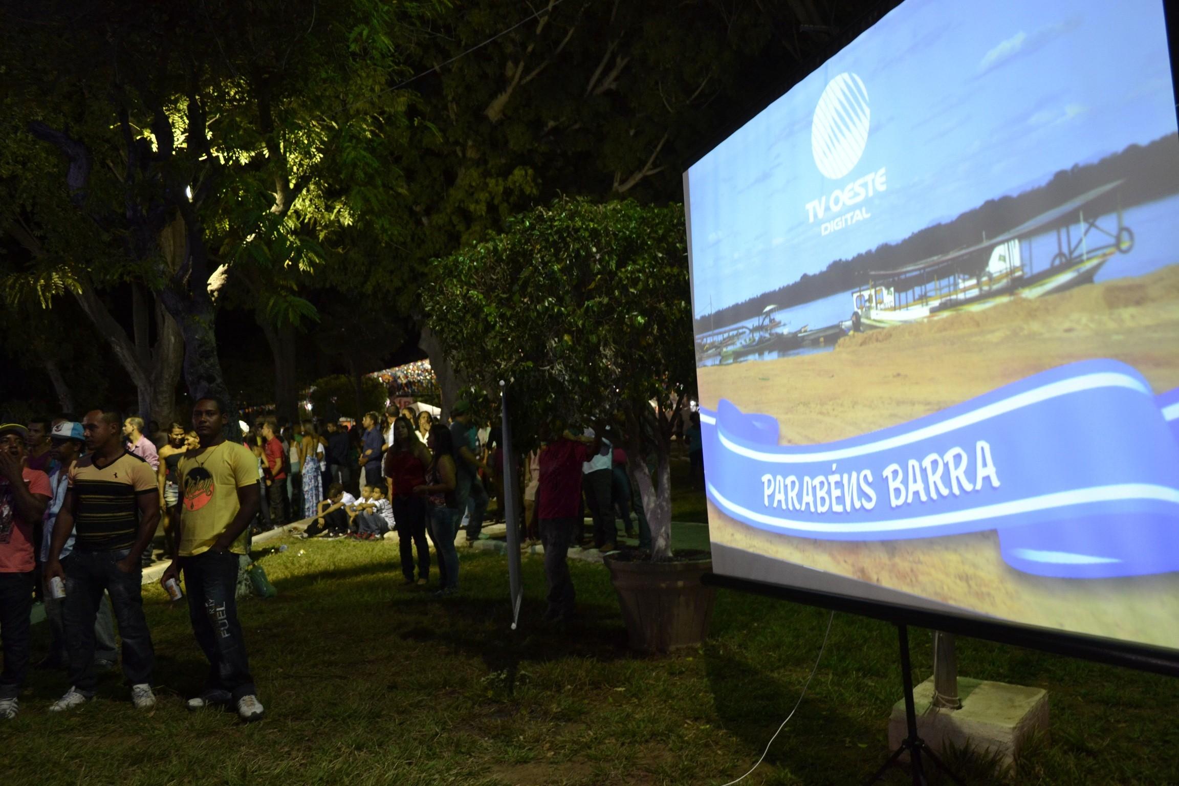 Aniversário de Barra (Foto: Divulgação)