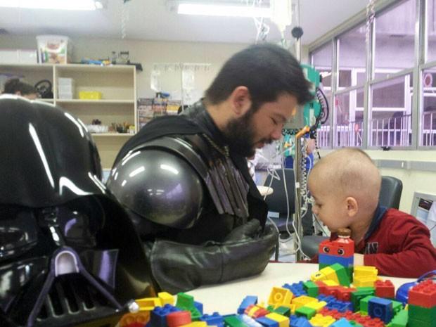 Invasão Star Wars é realizada no Hospital de Clínicas de Porto Alegre (Foto: Divulgação/Legião do Bem )