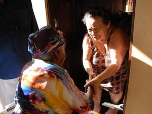 Bairro tradicional de Macapá festeja 108 anos de moradora ilustre (Foto: Gabriel Penha/G1-AP)