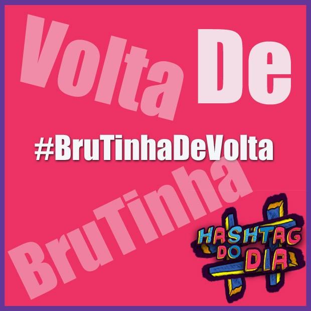 #HashtagDoDia: BruTinhaDeVolta (Foto: Malhação / TV Globo)