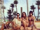 Ex-BBB Anamara curte feriado em Búzios com Lívia Lemos
