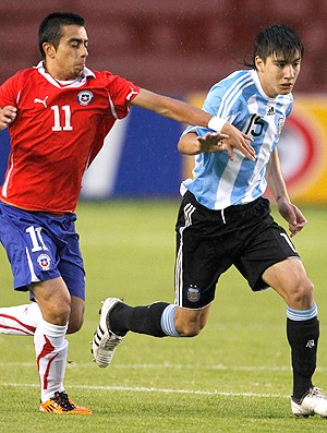 Ramses Bustos Chile Adrian Martinez Argentina (Foto: Reuters)