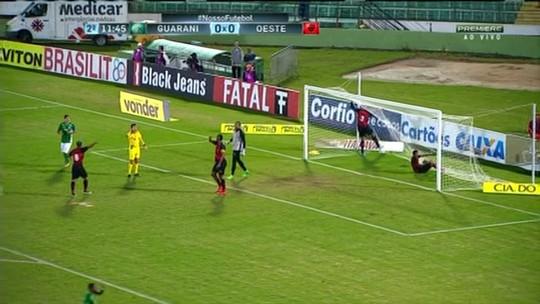 Jejum de Eliandro e primeiro jogo sem gols pressionam Guarani contra o lanterna