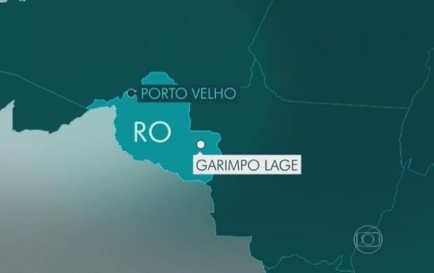 Opeação Crátons investiga extração e venda ilegal de diamantes em Rondônia (Foto: Jornal Hoje)