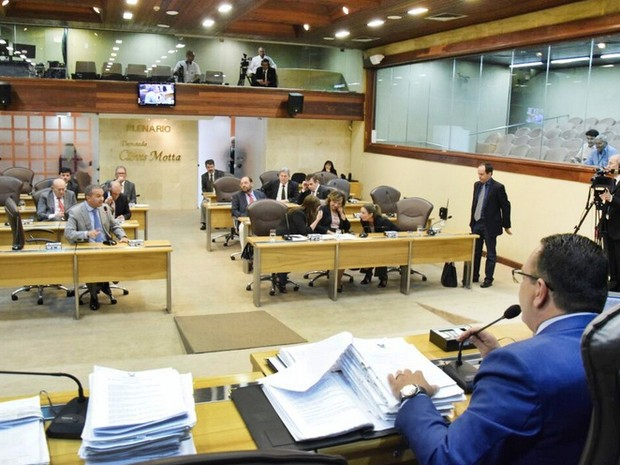 Deputados derrubaram o veto do governador Robinson Faria (Foto: João Gilberto/Assemmbleia Legislativa do RN)