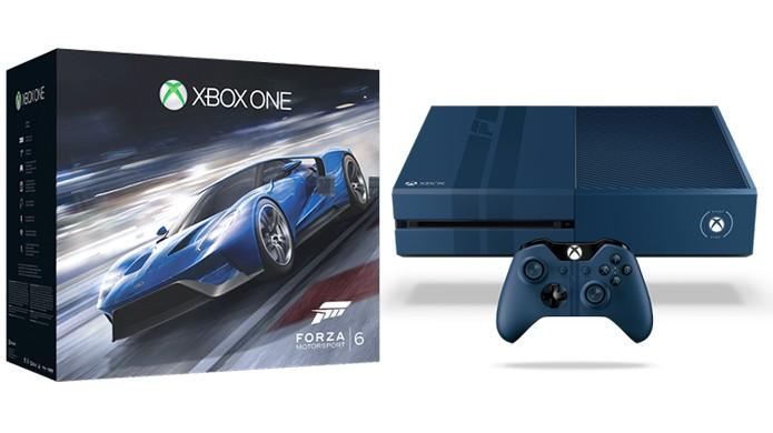 Novo pacote do Xbox One traz modelo de 1TB com Forza Motorsport 6 (Foto: Divulgação)