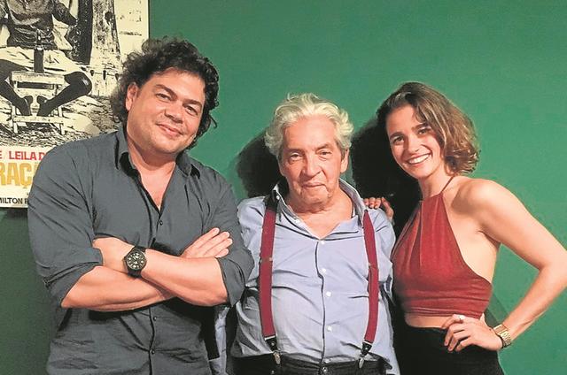 Fernando Philbert, Domingos Oliveira e Priscila Steinman (Foto: Divulgação)