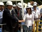 Copasa inaugura obra para captação de água do Rio Paraopeba