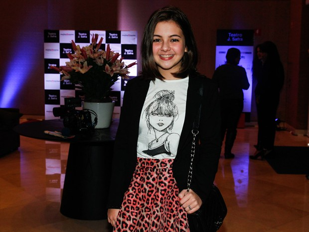 Klara Castanho em teatro em São Paulo (Foto: Manuela Scarpa/ Foto Rio News)