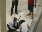 Ladrão se fere e é preso após policial reagir a roubo a joalheria no DF