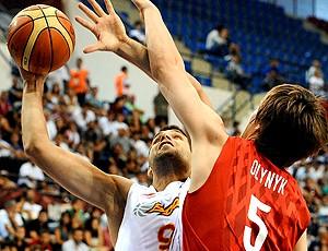 Felipe Reyes, Espanha. Mundial de basquete (Foto: AFP)