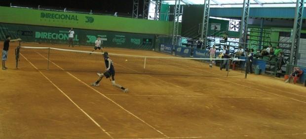 Competição será disputada nas quadras de saibro da Academia de tênis (Foto: Frank Cunha/Globoesporte.com)