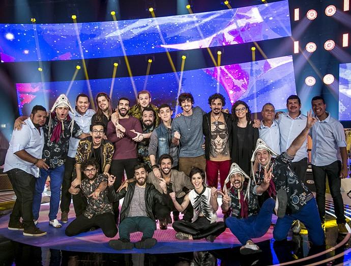 Bandas finalistas do 'SuperStar': Bellamore, Fulô de Mandacaru, OutroEu e Plutão Já Foi Planeta (Foto: Isabella Pinheiro/Gshow)