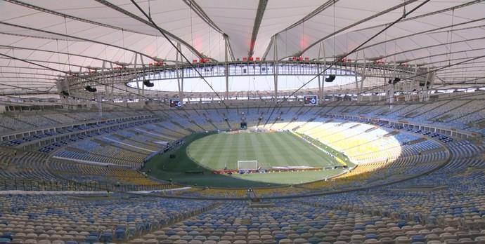 Maracanã - Flamengo x Cruzeiro (Foto: Reprodução \TV Globo Minas)
