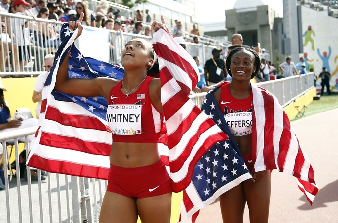 Kaylin Whitney; atletismo; Jogos Pan-Americanos (Foto: Rob Schumacher/Reuters)