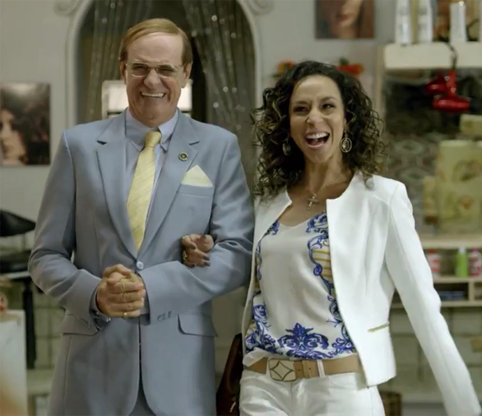 Celma ri na cara de Marlene (Foto: TV Globo)