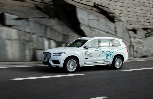 Modelo da Volvo utilizado para testes do Drive Me (Foto: Divulgação)